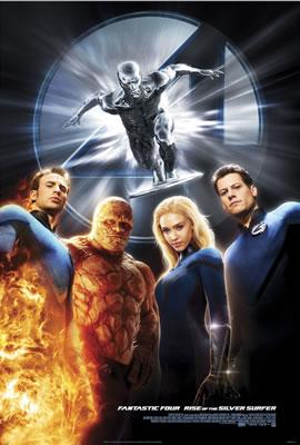 Nuevo póster de Fantastic Four: Rise of the Silver Surfer en tamaño descomunal!